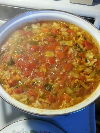 TLB Soup in pot