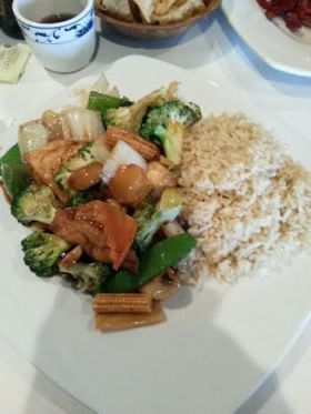 Chinese veggie delight