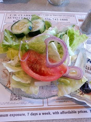 Diner salad