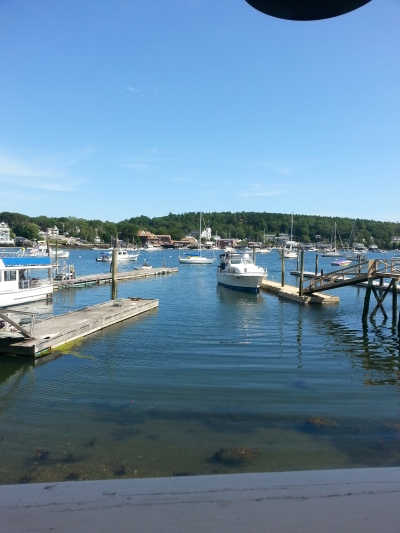 Harbor in Boothbay Harbor