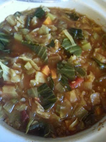 WW veggie soup