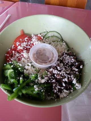 Mushoom Salad at Green Market Cafe