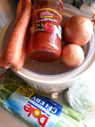 WW veggie soup ingredients