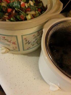 Two crock pots