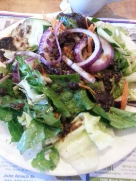 Salad at Phily Diner