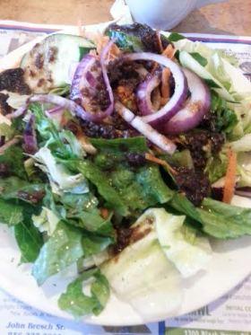Salad at Phily Diner